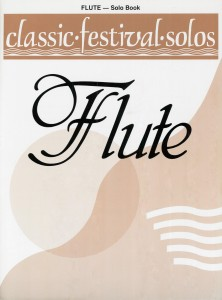 Classic Festival Solos Flute Cover FULL SIZE