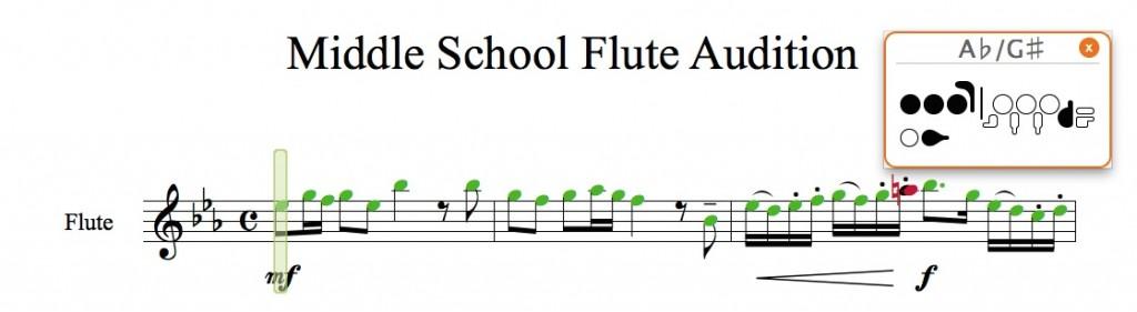 Flute SmartMusic