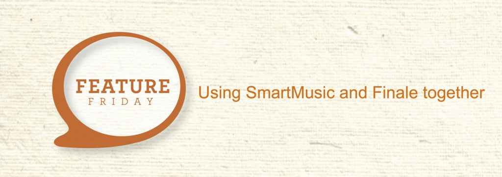 Using SmartMusic and Finale Together