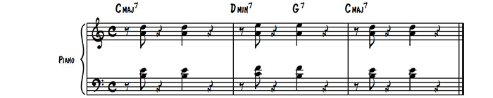Rhythmic Comping 2