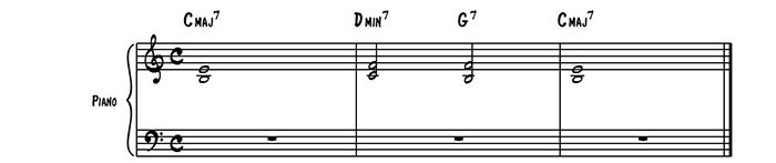 Simple Piano Voicings