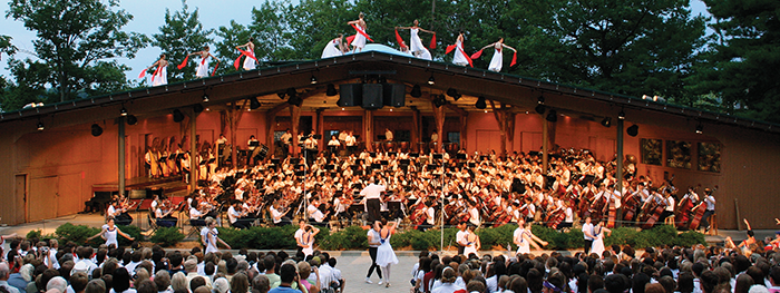 Summer Music Camps - photo courtesy of www.interlochen.org
