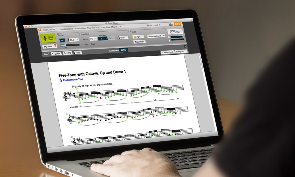 Classic SmartMusic | Download Music Education Software