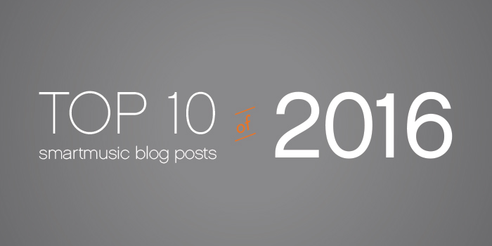 top 10 SmartMusic blog posts