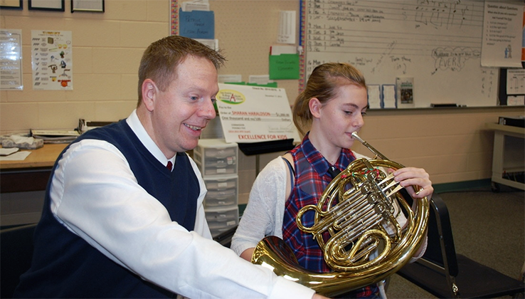 Music Educator Spotlight on Chris Gleason 2