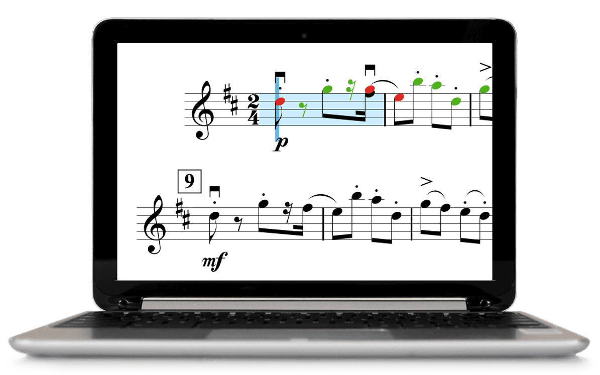 SmartMusic on a Chromebook