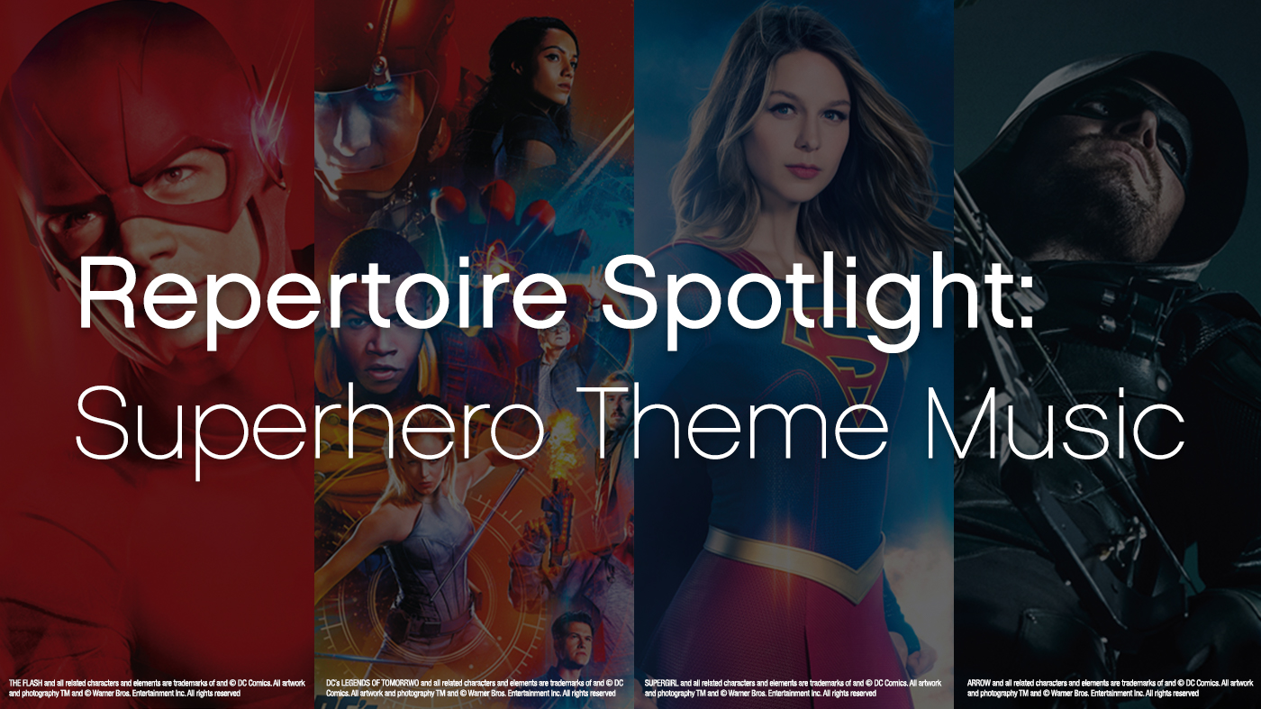 Featured Content: New Releases and Superhero Theme Music