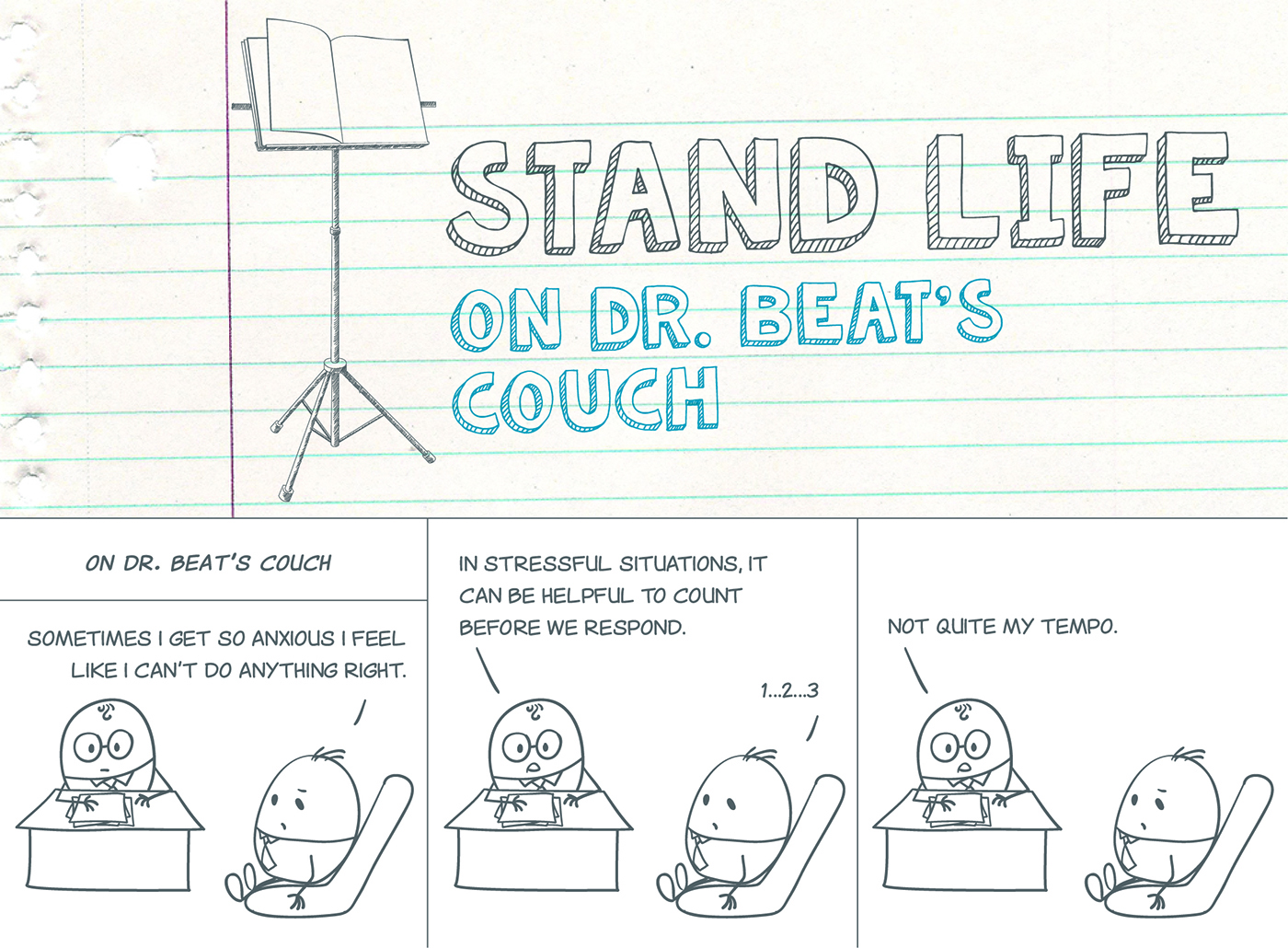Stand Life comic - On Dr. Beat's Couch