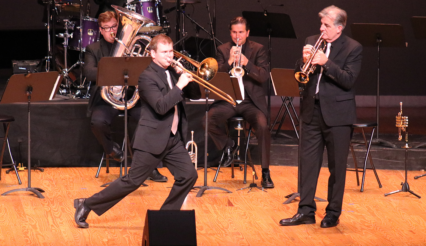 The Dallas Brass: Taking on Trombone's Most Unique Aspect - the Slide