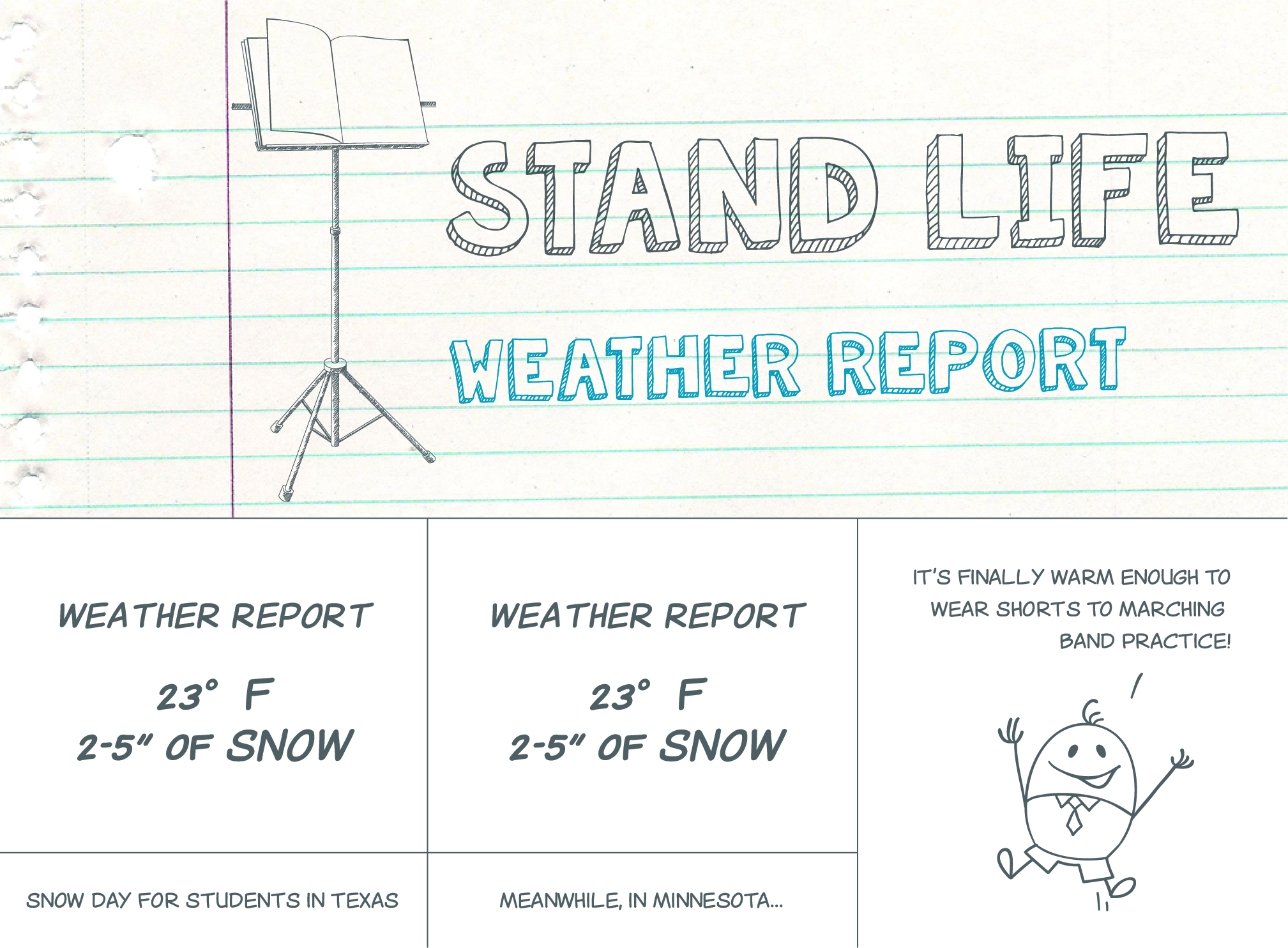 Weather Report - Stand Life Comic