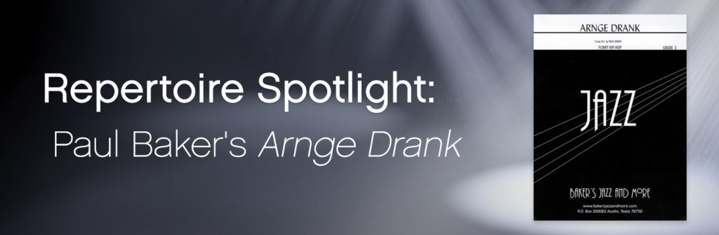 Featured Content Paul Bakers Arnge Drank Smartmusic