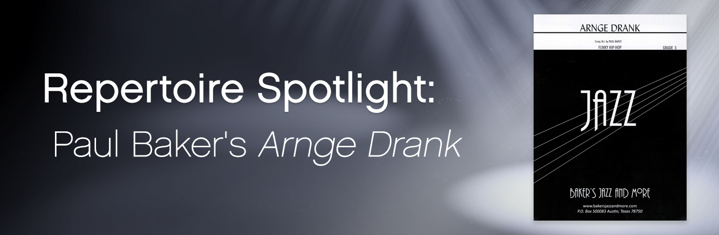 Featured Content: Paul Baker's Arnge Drank