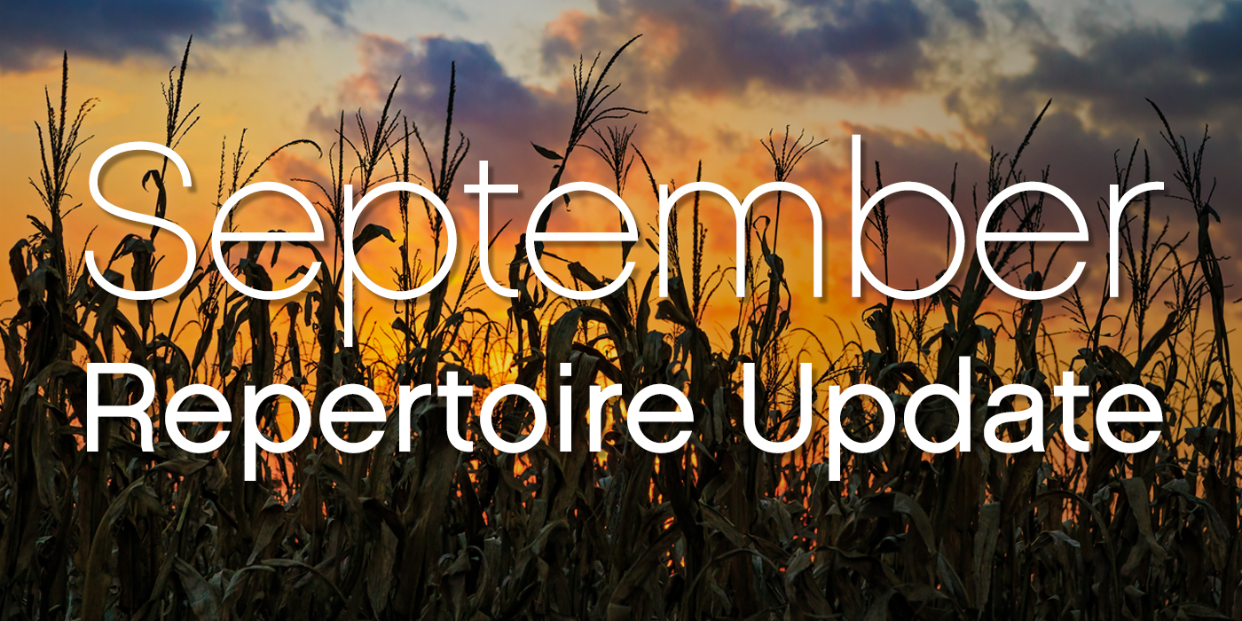 SmartMusic Repertoire Update: September 2017