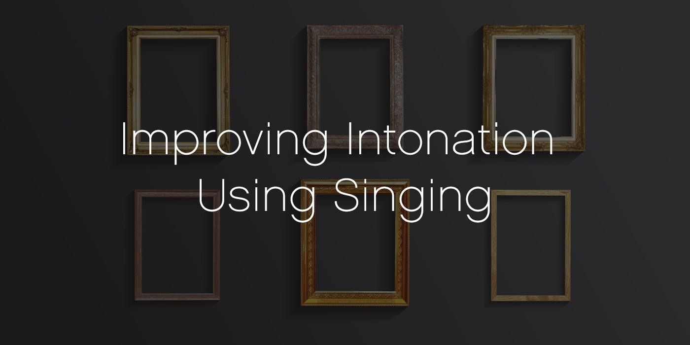 Framing the Lesson: improving Intonation Using Singing