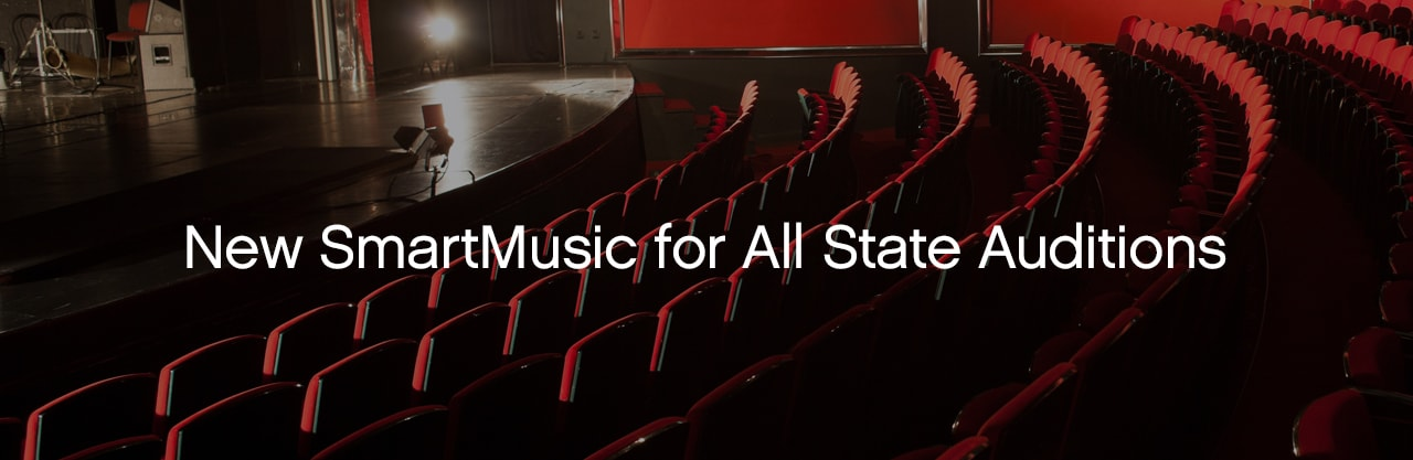 Using the New SmartMusic for All-State Auditions 2