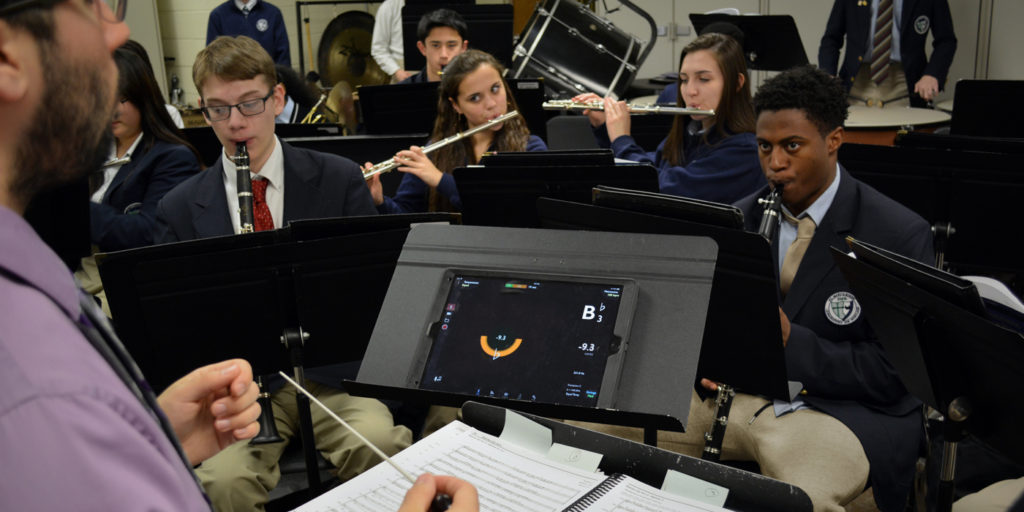 Music Tech for the Instrumental Program: Phone and Tablet