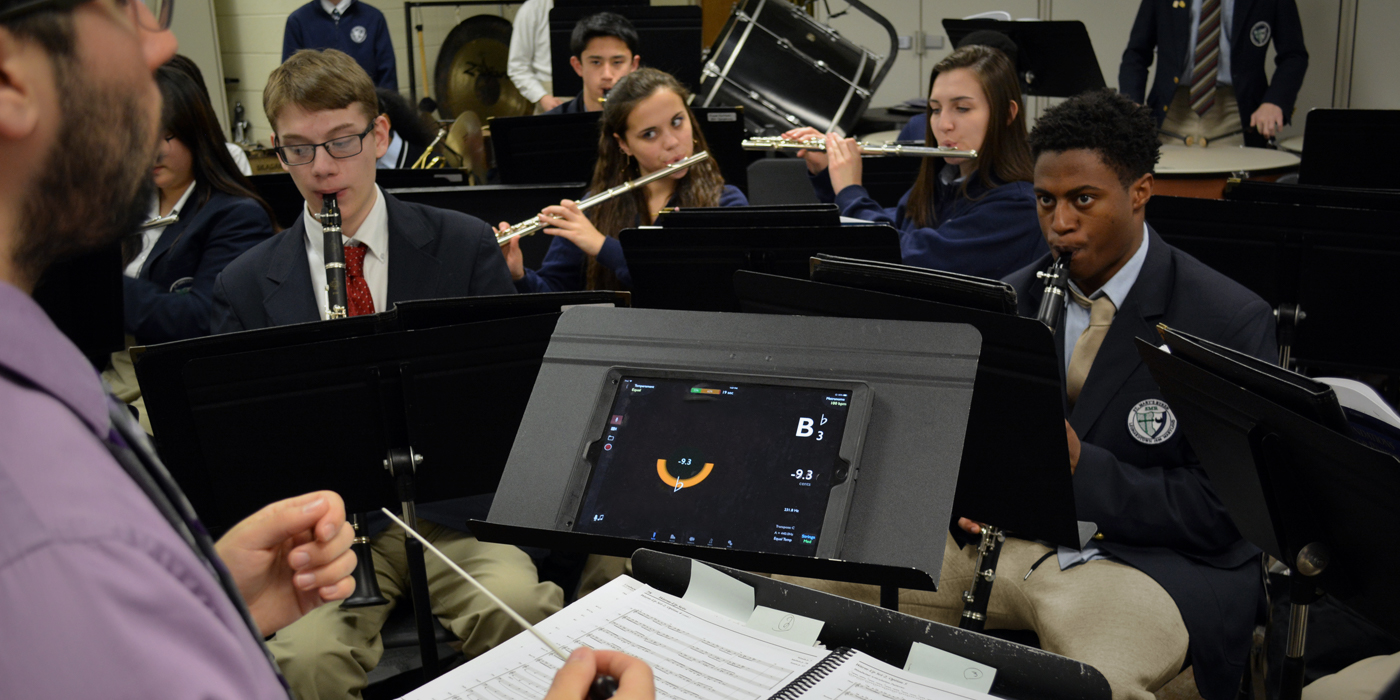 Music Tech for the Instrumental Program: Phone and Tablet Apps