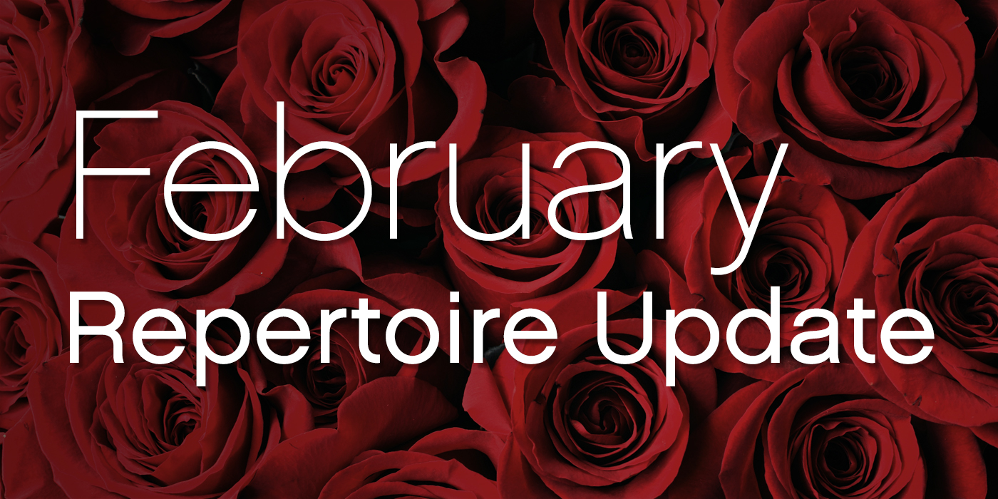 SmartMusic Repertoire Update: February 2018