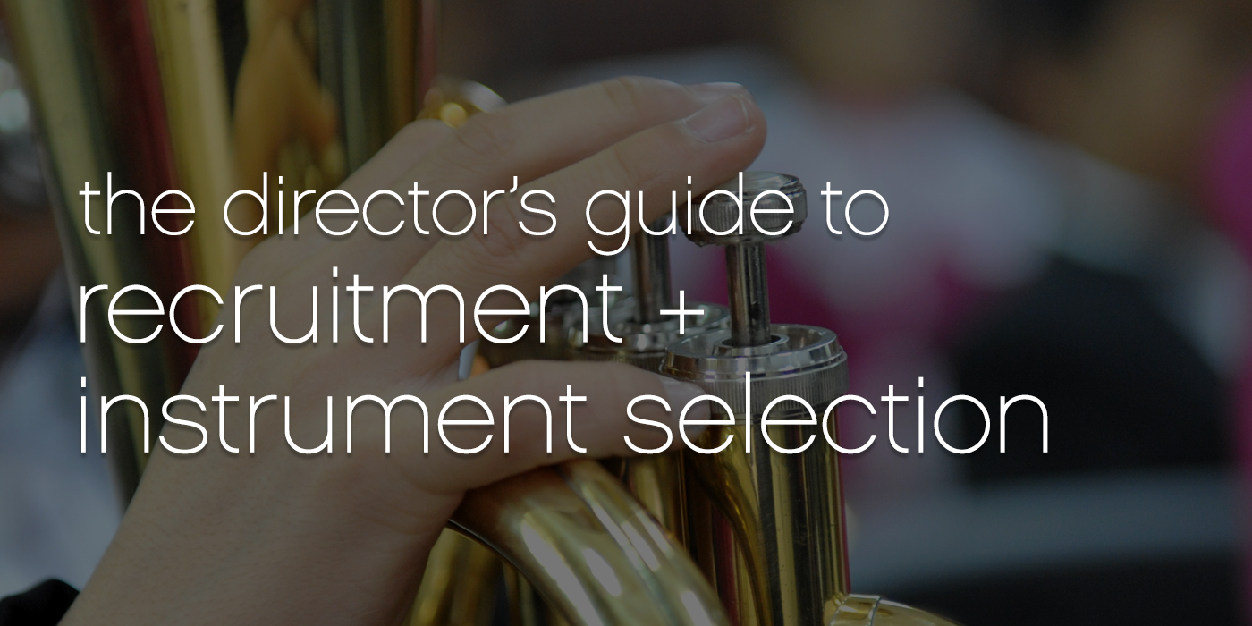 The Director's Guide to Recruitment and Instrument Selection