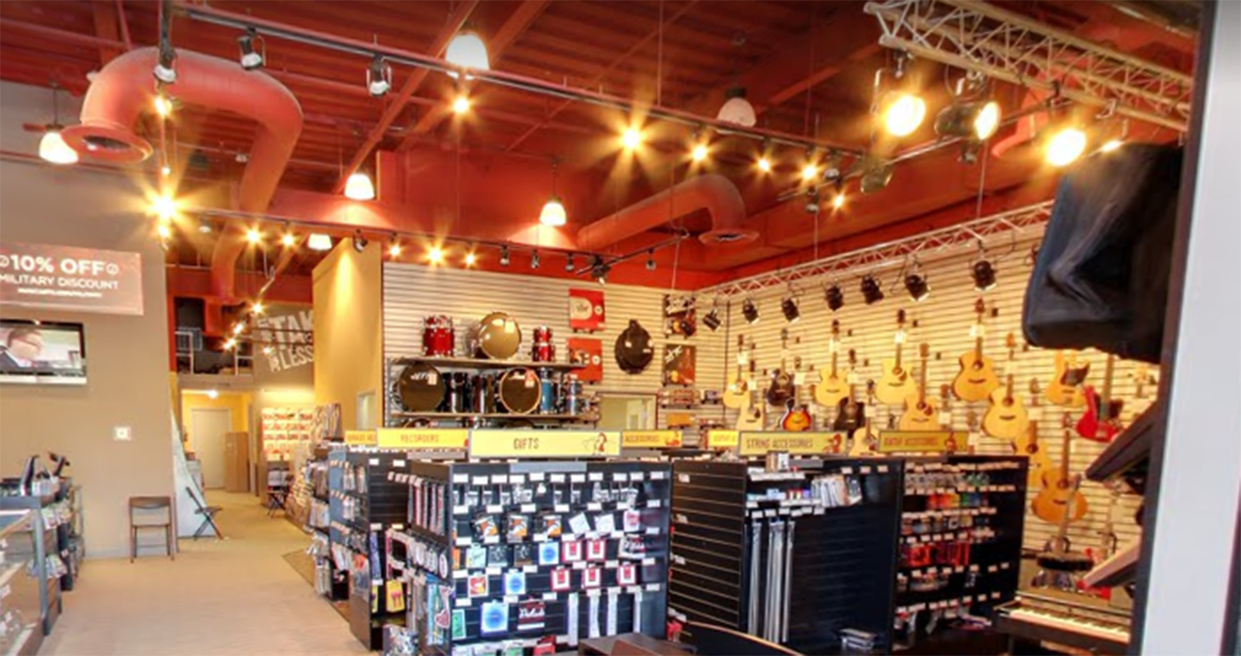 Partner with a Local Music Retailer for Instrument Fitting and Recruitment