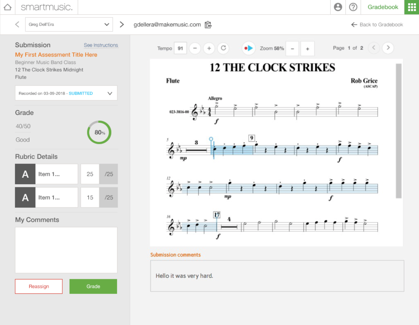 Improvements to the New SmartMusic - 15
