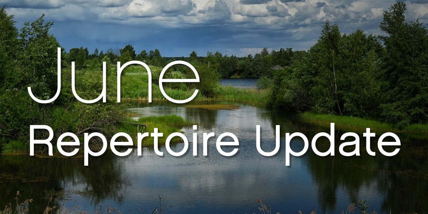 SmartMusic Repertoire Update: June 2018