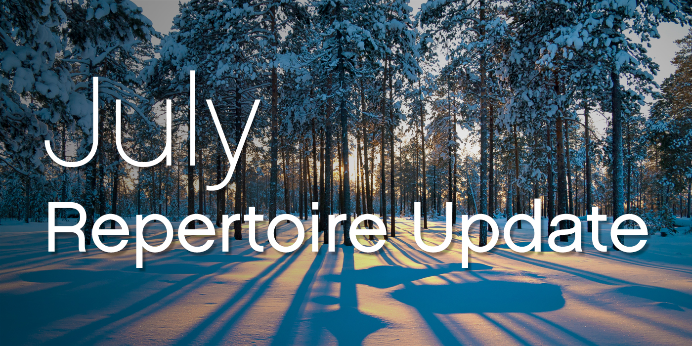 SmartMusic Repertoire Update: July 2018