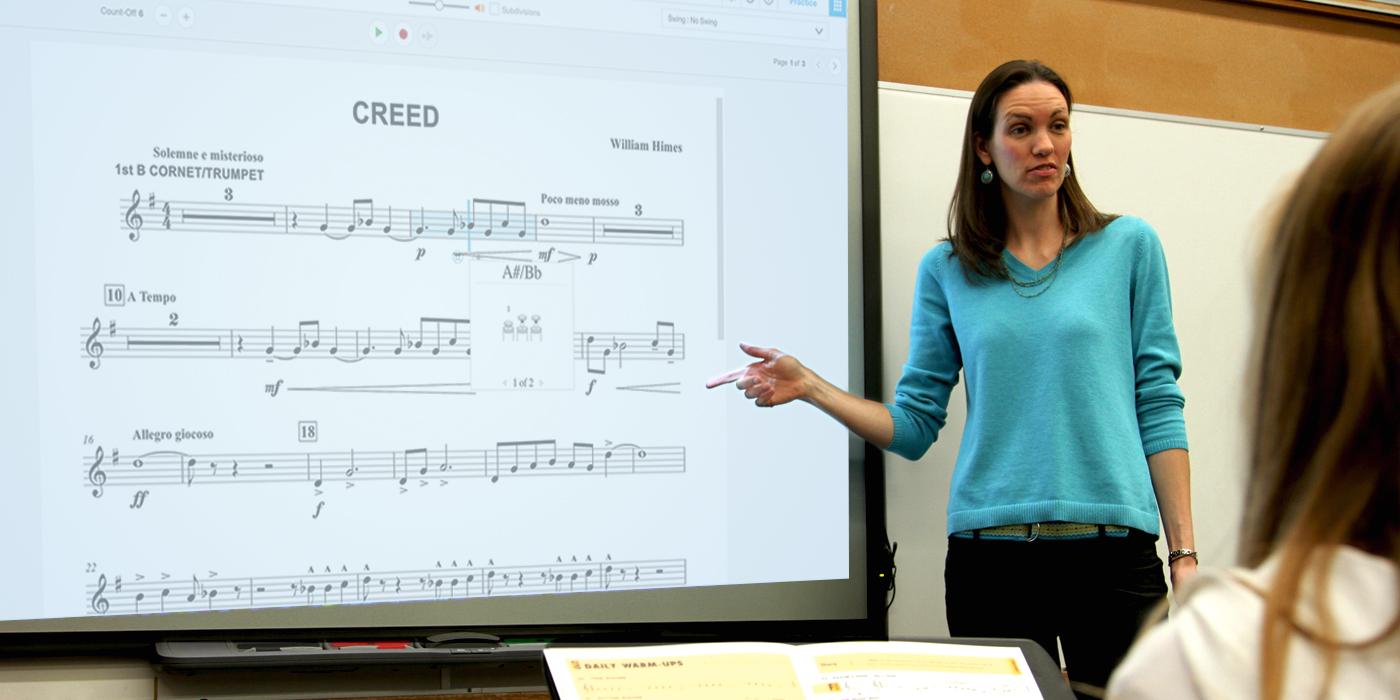 8 Ways to Use SmartMusic as a Classroom Teaching Tool