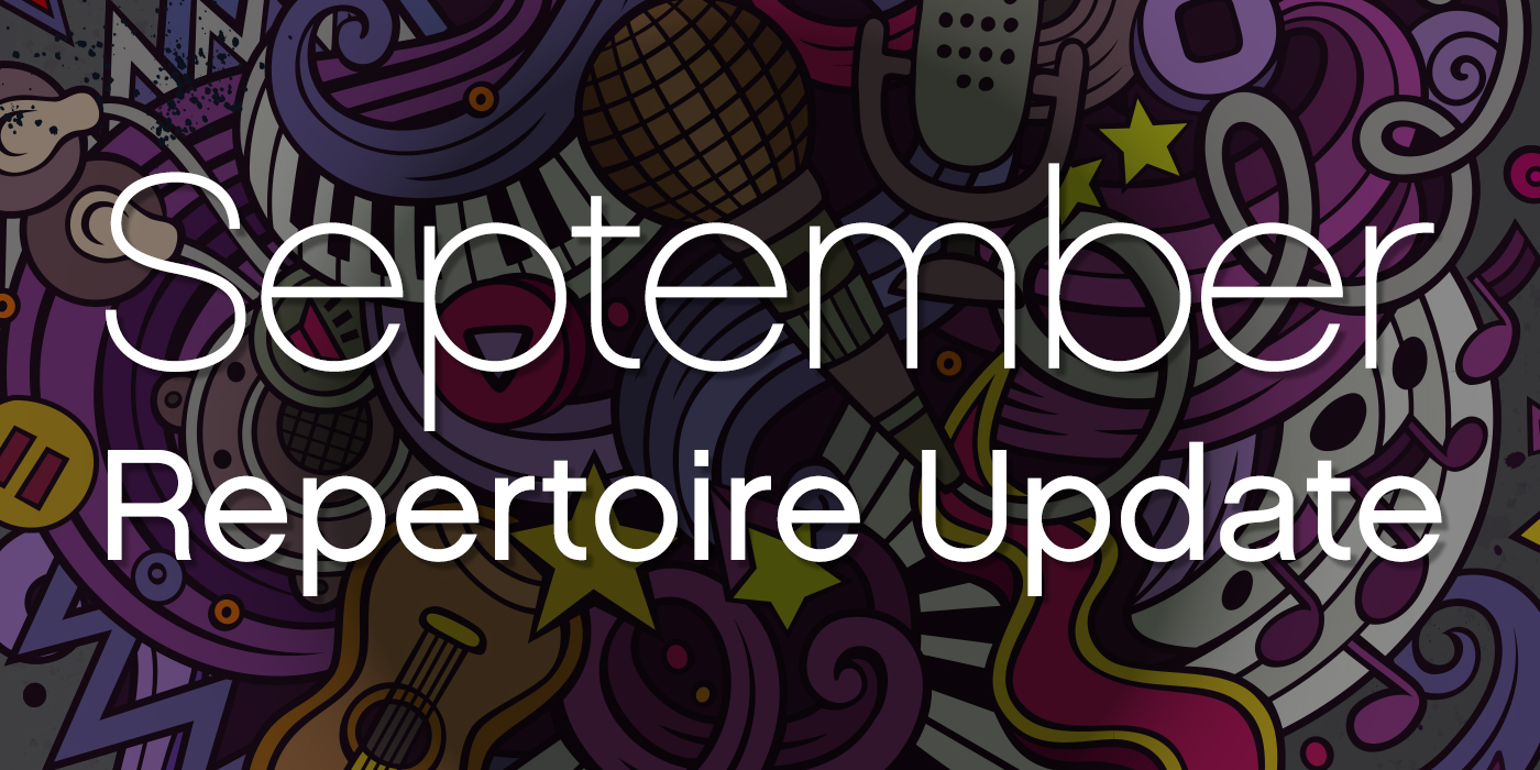 SmartMusic Repertoire Update: September 2018