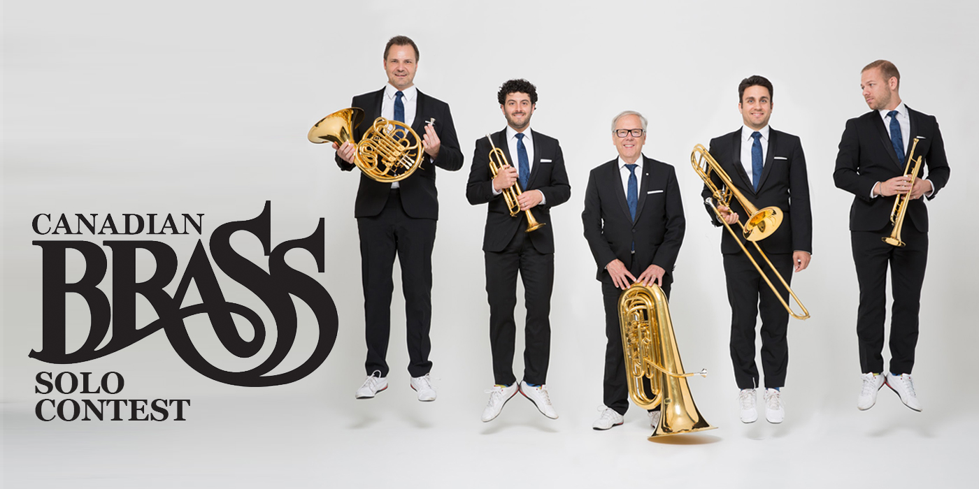 Announcing the Canadian Brass Solo Contest