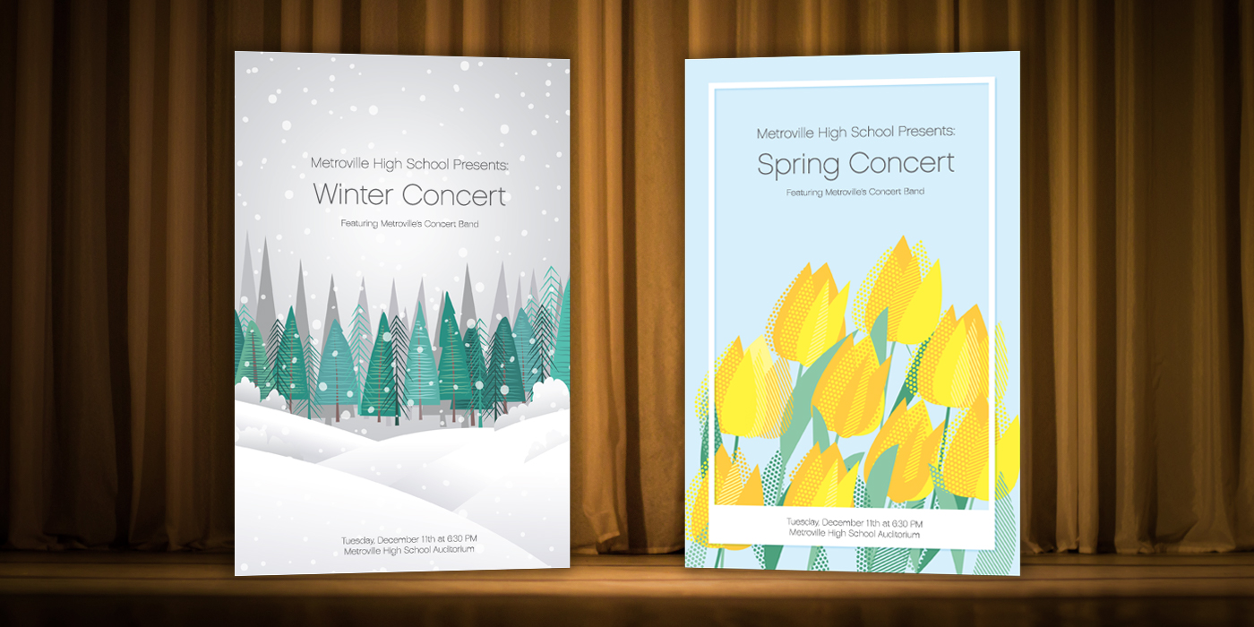 Creating a Quick, Inexpensive Concert Program