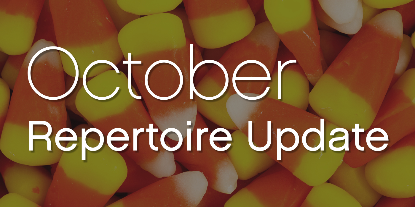 SmartMusic Repertoire Update: October 2018