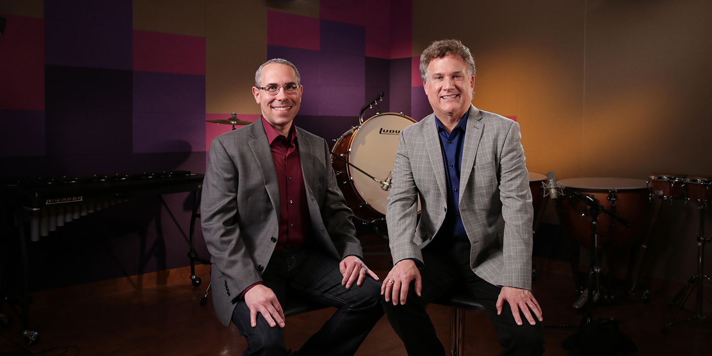 "Meet ""Sound Percussion"" Authors Chris Bernotas and Dave Black"