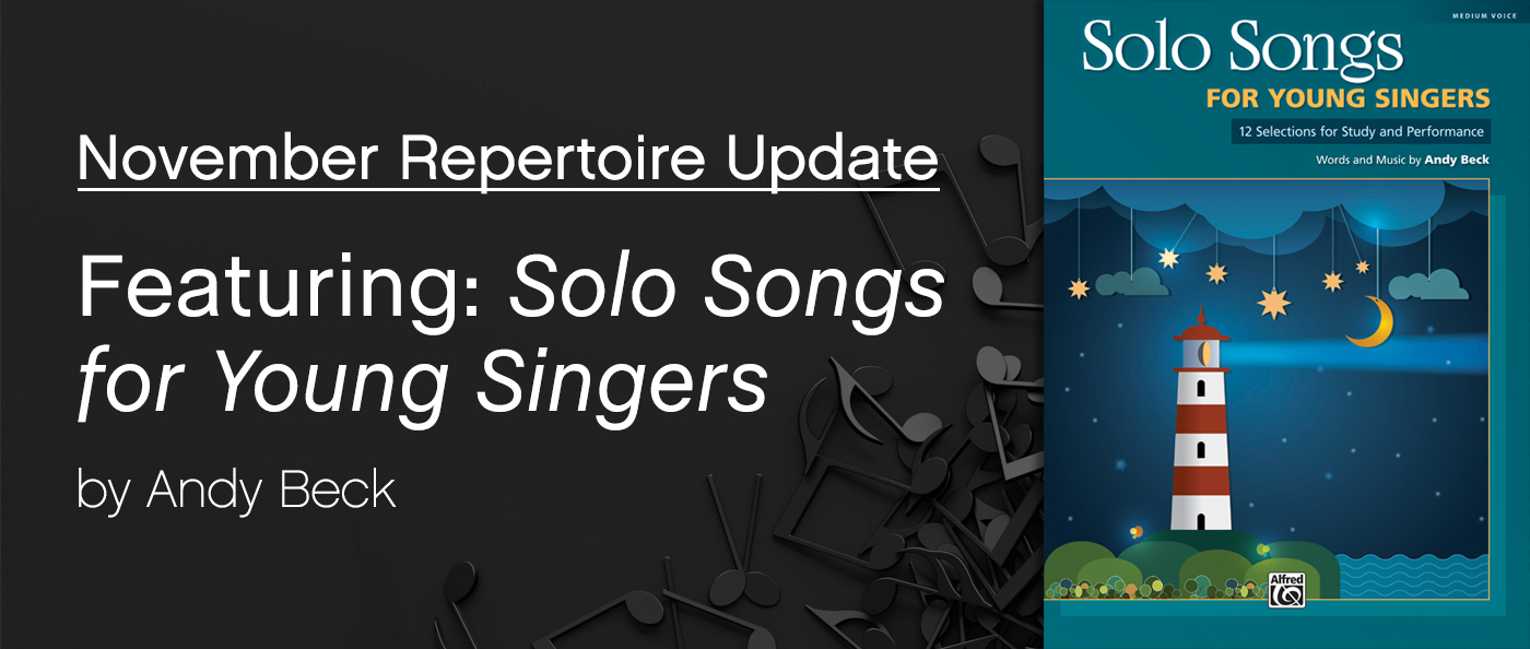 SmartMusic Repertoire Update: November 2018