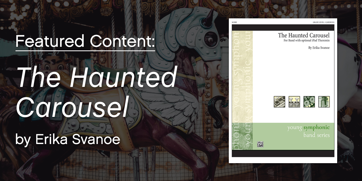 "Featured Content: ""The Haunted Carousel"" by Erika Svanoe"