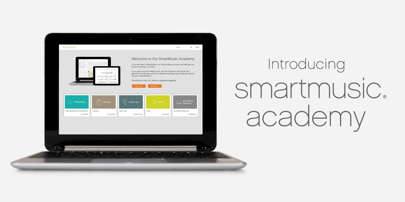 Introducing SmartMusic Academy