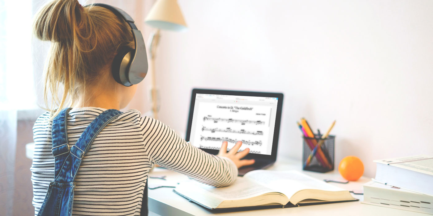 teach music remotely