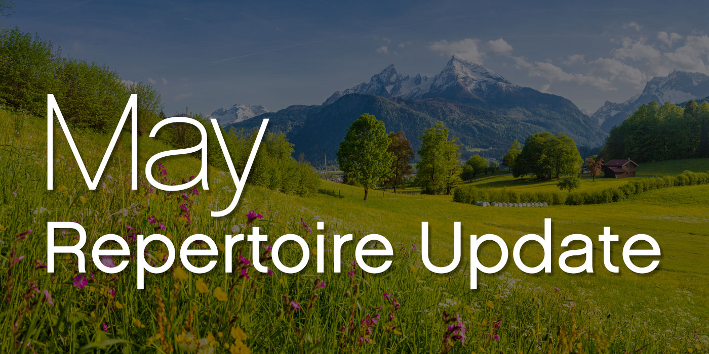 may repertoire update