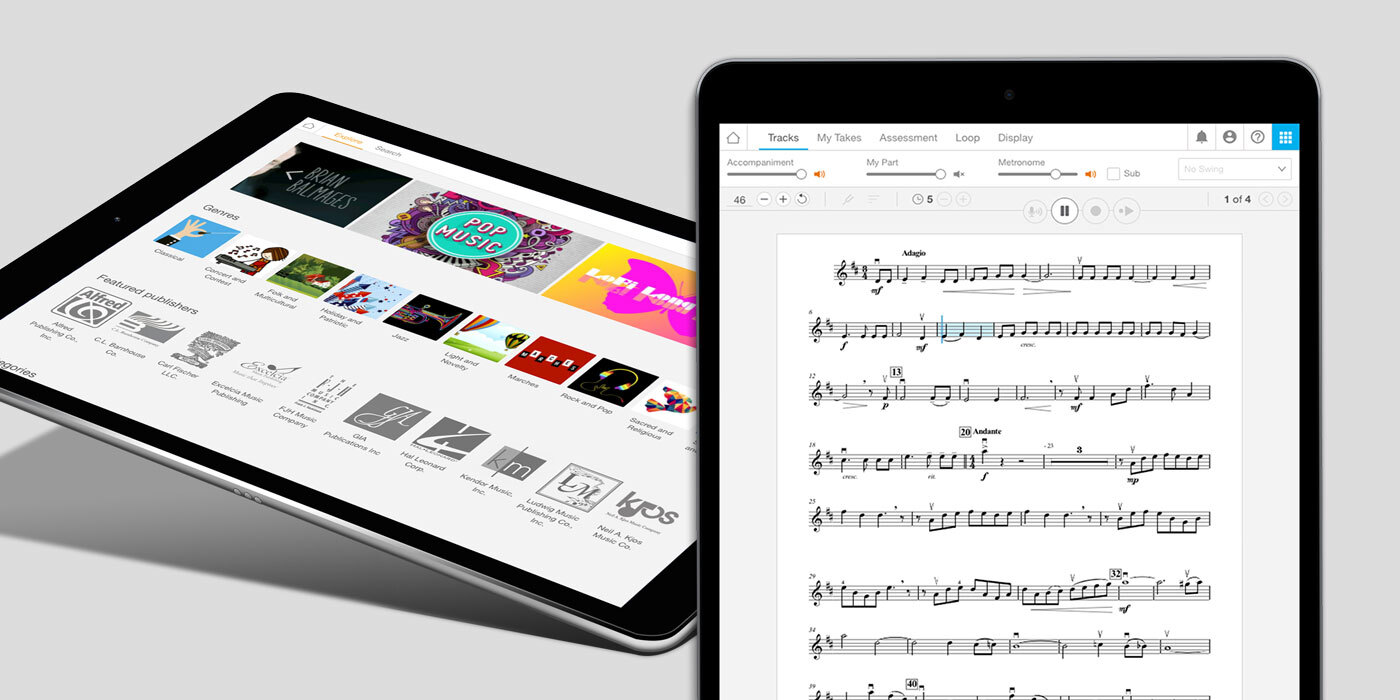SmartMusic Ipad compatibility