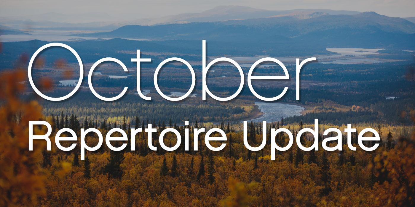 october 2020 repertoire