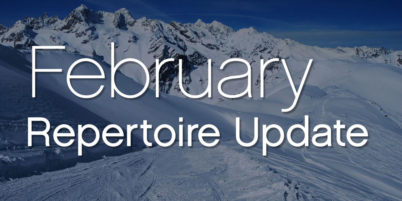 SmartMusic February 2021 Repertoire Update