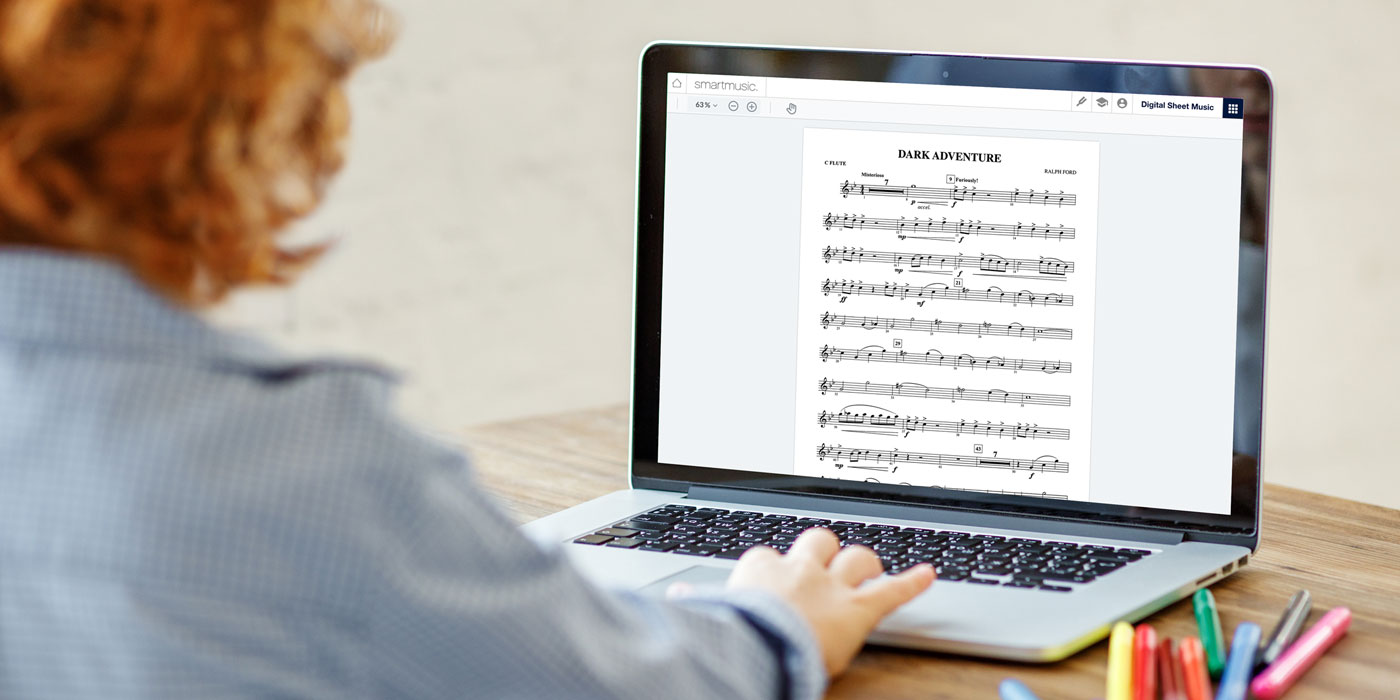 coming soon digital sheet music library