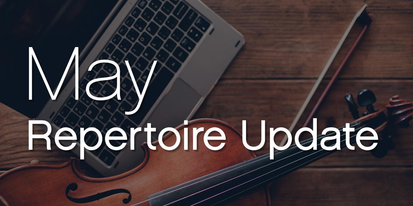 may repertoire update
