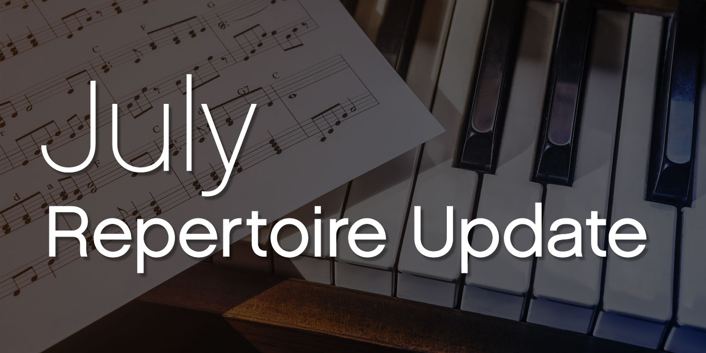 july repertoire