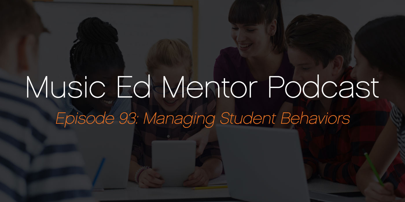 managing student behaviors