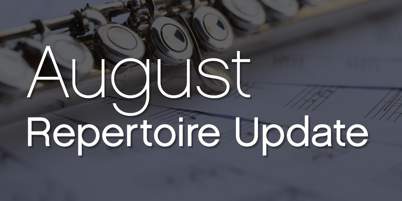 august 2021 repertoire
