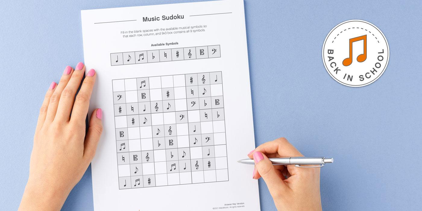 music symbols sudoku